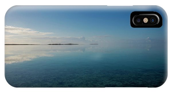 IPhone Case featuring the photograph Bonefish Flats, Great Exuma by Thomas Kallmeyer