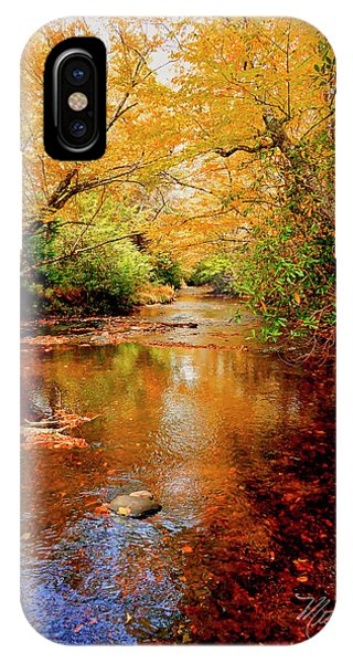 Boone Fork Stream IPhone Case