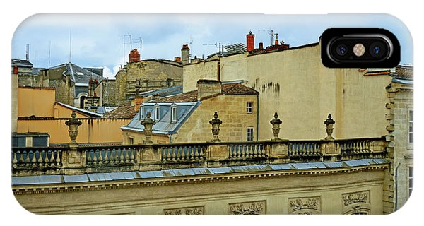 iPhone Case - Bordeaux Rooftops by Kathy Yates