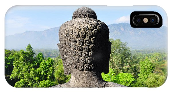 Spirituality iPhone Case - Borobudur Temple, Yogyakarta, Java by Sfeichtner