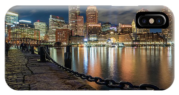 Boston At Blue Hour IPhone Case