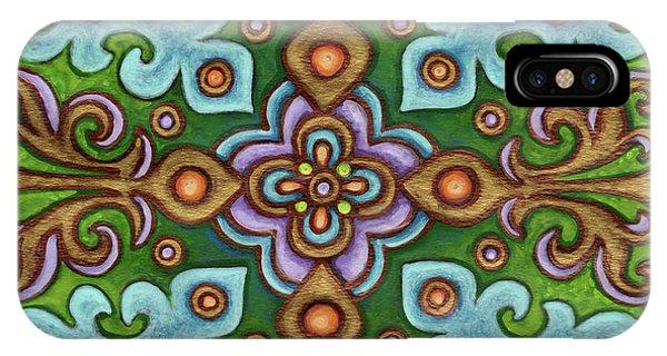 Botanical Mandala 4 IPhone Case