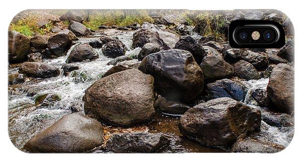 Boulders In Creek IPhone Case
