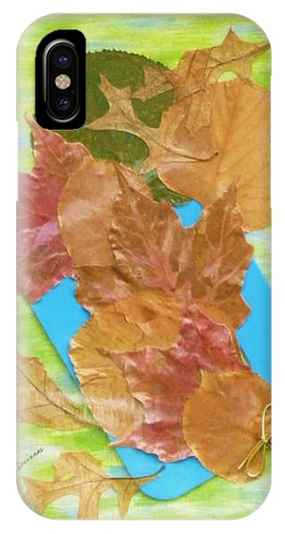 Bouquet From Fallen Leaves IPhone Case