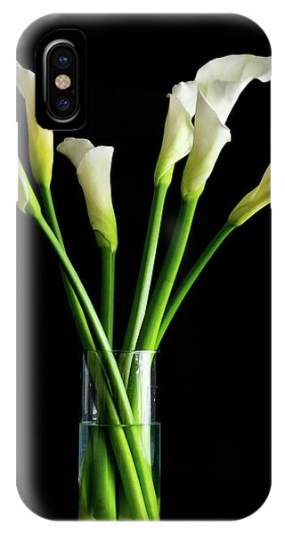 Bouquet Of Calla Lilies IPhone Case