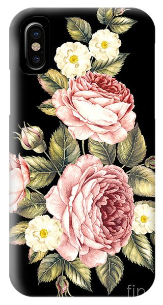 Peony iPhone Case - Bouquet Of Rose. Invitation Card For by Botanical Decor