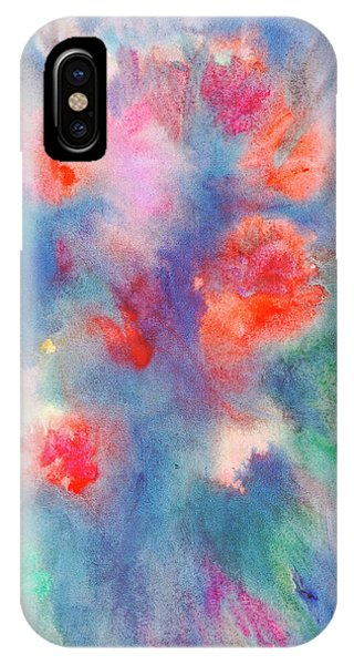 IPhone Case featuring the painting Bouquet Of Roses by Dobrotsvet Art