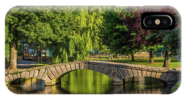 Bourton-on-the-water, Gloucestershire Phone Case by David Ross