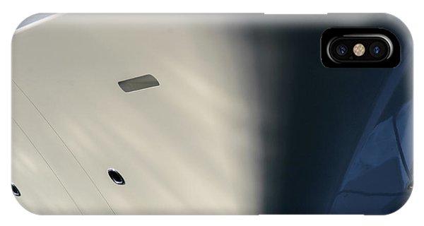 Bow Of Mega Yacht IPhone Case