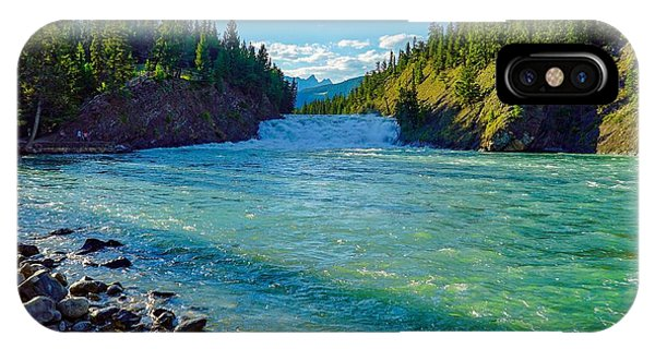 Bow River In Banff IPhone Case