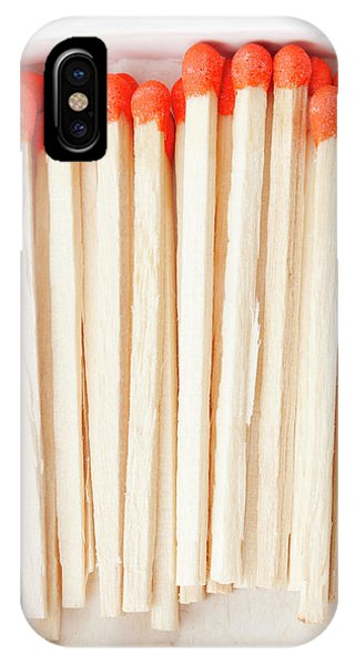 Flammable iPhone Case - Box Of Matches by Fabrizio Troiani