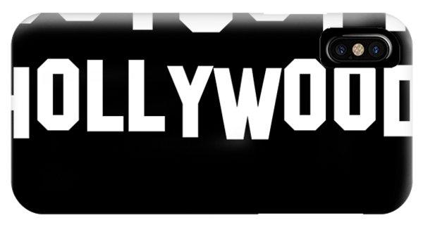 Boycott Hollywood IPhone Case