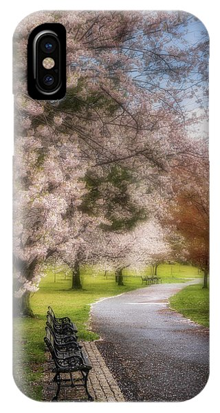 iPhone Case - Branch Brook Nj Cherry Blossoms by Susan Candelario