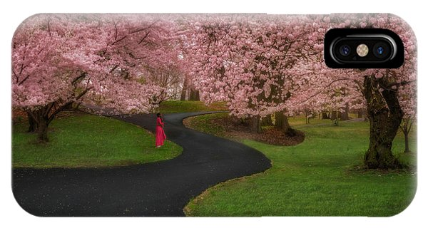 iPhone Case - Branch Brook Park Cherry Blossoms by Susan Candelario