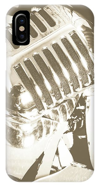 Musical iPhone Case - Breaking The Set by Jorgo Photography - Wall Art Gallery