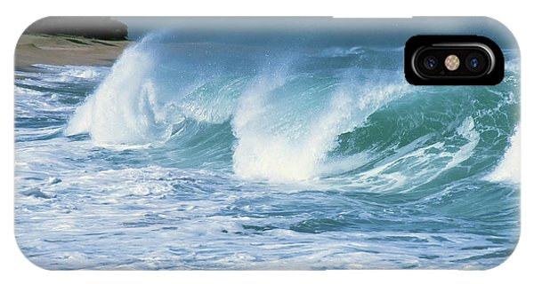 iPhone Case - Breaking Wave North Shore by Thomas R Fletcher
