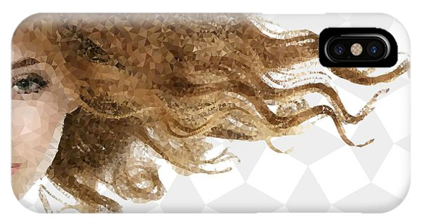 IPhone Case featuring the mixed media Breeze by Marianna Mills