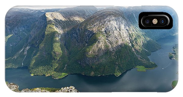 IPhone Case featuring the photograph Breiskrednosie, Norway by Andreas Levi