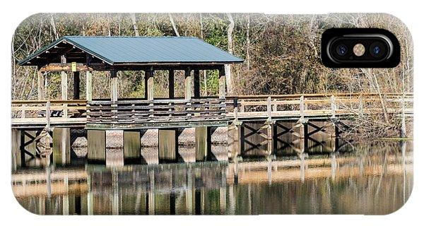 Brick Pond Park - North Augusta Sc IPhone Case