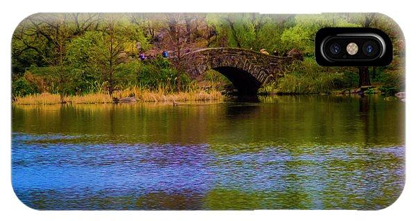 Bridge In Central Park IPhone Case