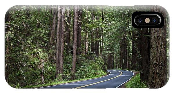 Hiking Path iPhone Case - Bridge On Hwy One Near Big Sur Coast Of by Hixnhix