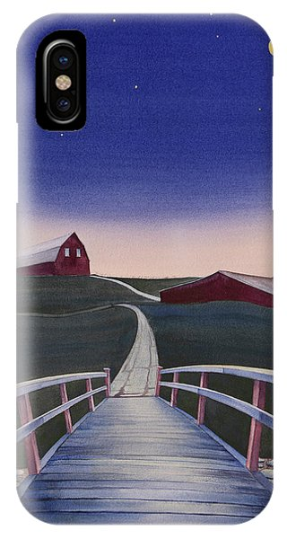Bridge Over Buck Creek II IPhone Case