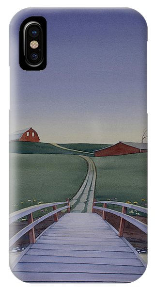 Bridge Over Buck Creek IPhone Case