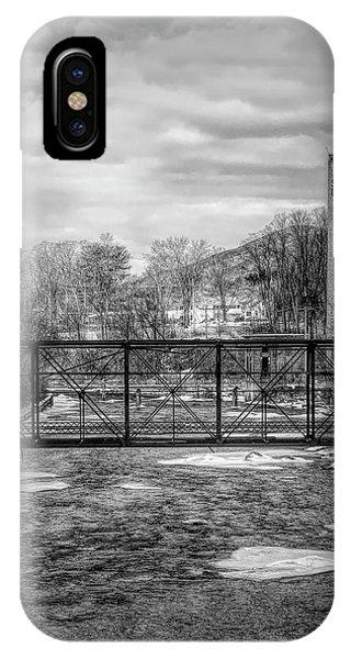 Bridge Over The Sugar River IPhone Case