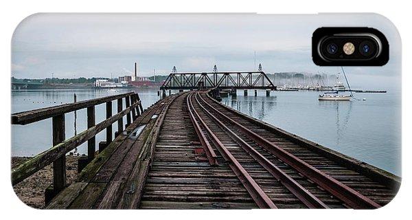 Bridge To Burnham And Morrill IPhone Case