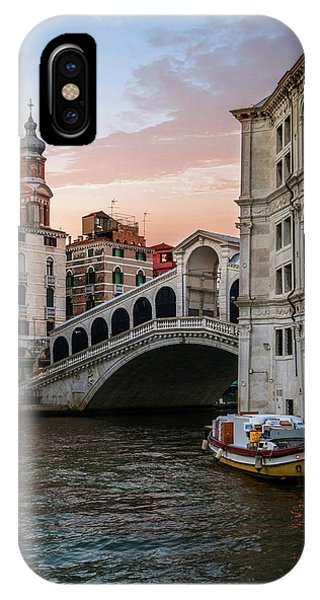 iPhone Case - Bridges Of Venice - Rialto by Jaroslaw Blaminsky