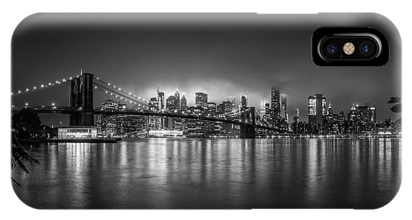 Carousel iPhone Case - Bright Lights Of New York by Nicklas Gustafsson