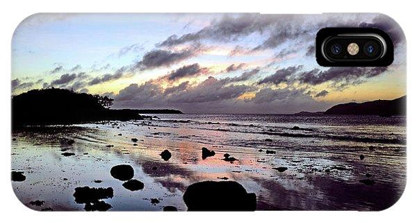 Bright Mirror Of Sunset Light IPhone Case