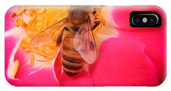 Brilliant Bee IPhone Case