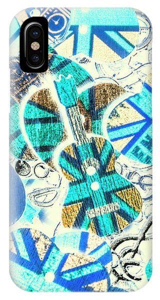 Rock And Roll Art iPhone Case - Britain Blues by Jorgo Photography - Wall Art Gallery