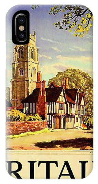 English Village iPhone Case - Britain by Long Shot