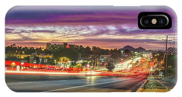 Broadway Sunset, Tucson, Az IPhone Case