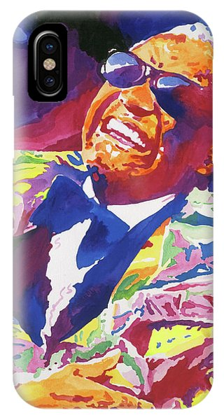 Rhythm And Blues iPhone Case - Brother Ray Charles by David Lloyd Glover