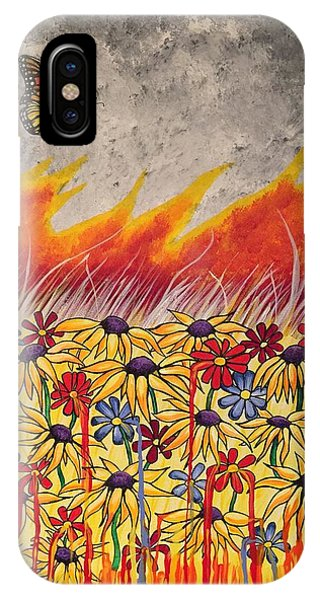 Brushfire IPhone Case