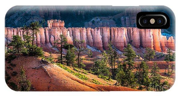 Garden Wall iPhone Case - Bryce Canyon by Oscity