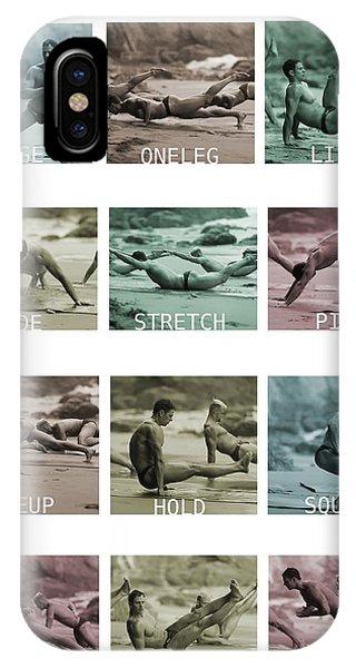 Bum Fit Beach Workout  IPhone Case