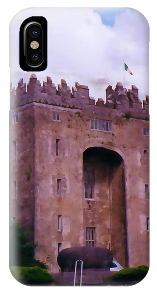 Bunratty Castle Painting IPhone Case