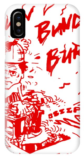 Ted Bundy iPhone Case - Burn Bundy Burn T Shirt, Ted Bundy Execution Day, Heartbreaker by Nabil El masni