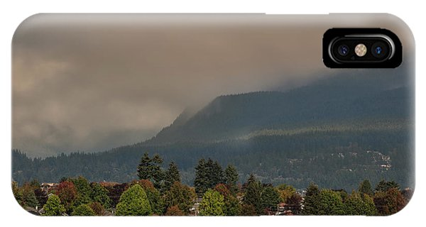 Burnaby Mountain IPhone Case