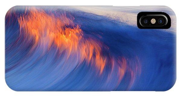 Burning Wave IPhone Case