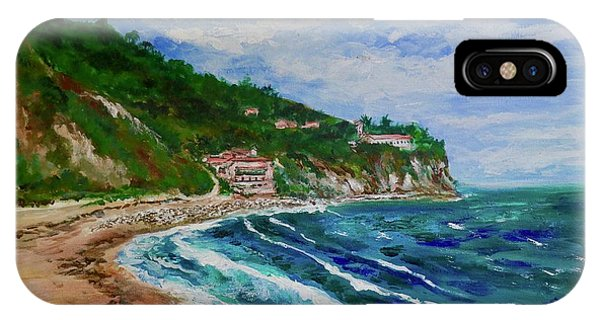 Burnout Beach, Redondo Beach California IPhone Case