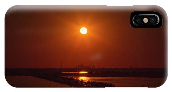 Burnt Orange IPhone Case