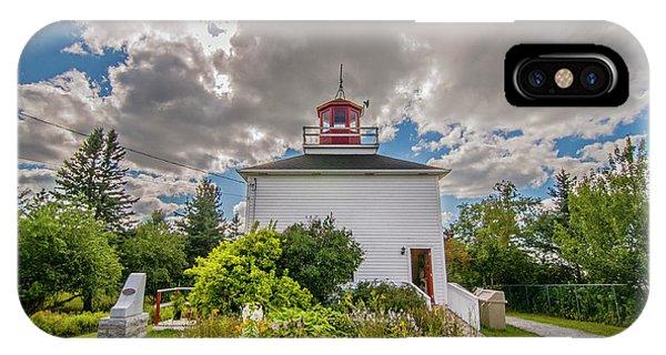 Burntcoast Head Lighthouse  IPhone Case