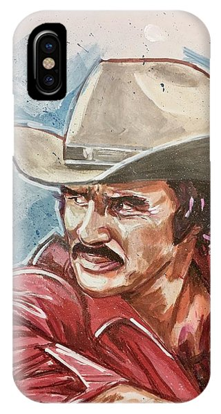 Burt Reynolds IPhone Case