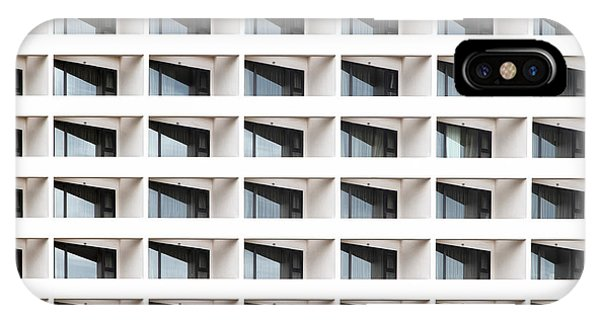 Object iPhone Case - Business Building Windows by Aoy Jira