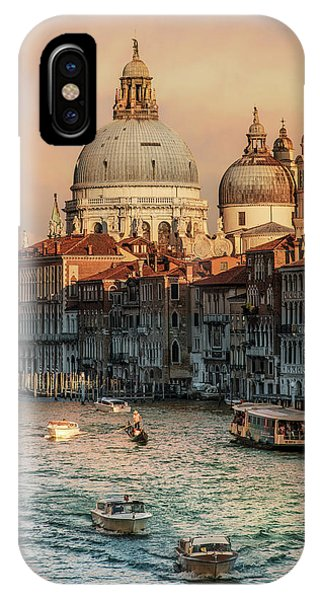 iPhone Case - Busy Morning In Venice by Jaroslaw Blaminsky